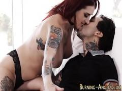 Genial amorous video category orgy (367 sec). Arousing and wild bang.